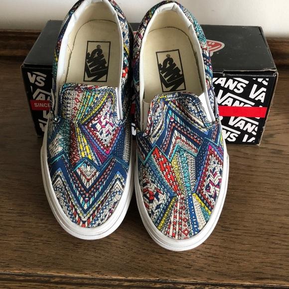 Vans Shoes | Nwot Slip On Vans Cool